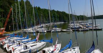 Najpiękniejsza marina w Polsce? Nad Jeziorem Nidzkim!