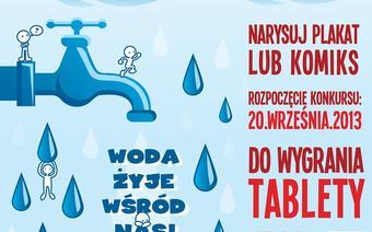 Woda żyje wśród nas! - plakat