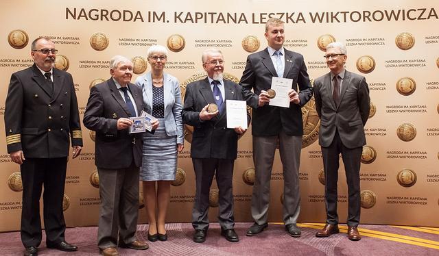 Wręczono Nagrodę im. Kapitana Leszka Wiktorowicza